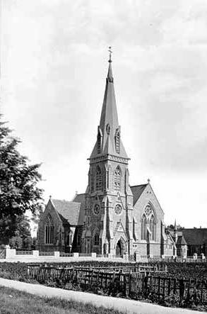 Trinity Church from the north-west