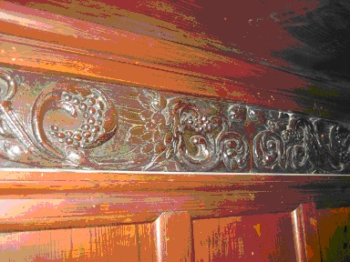 Detail of panelling
