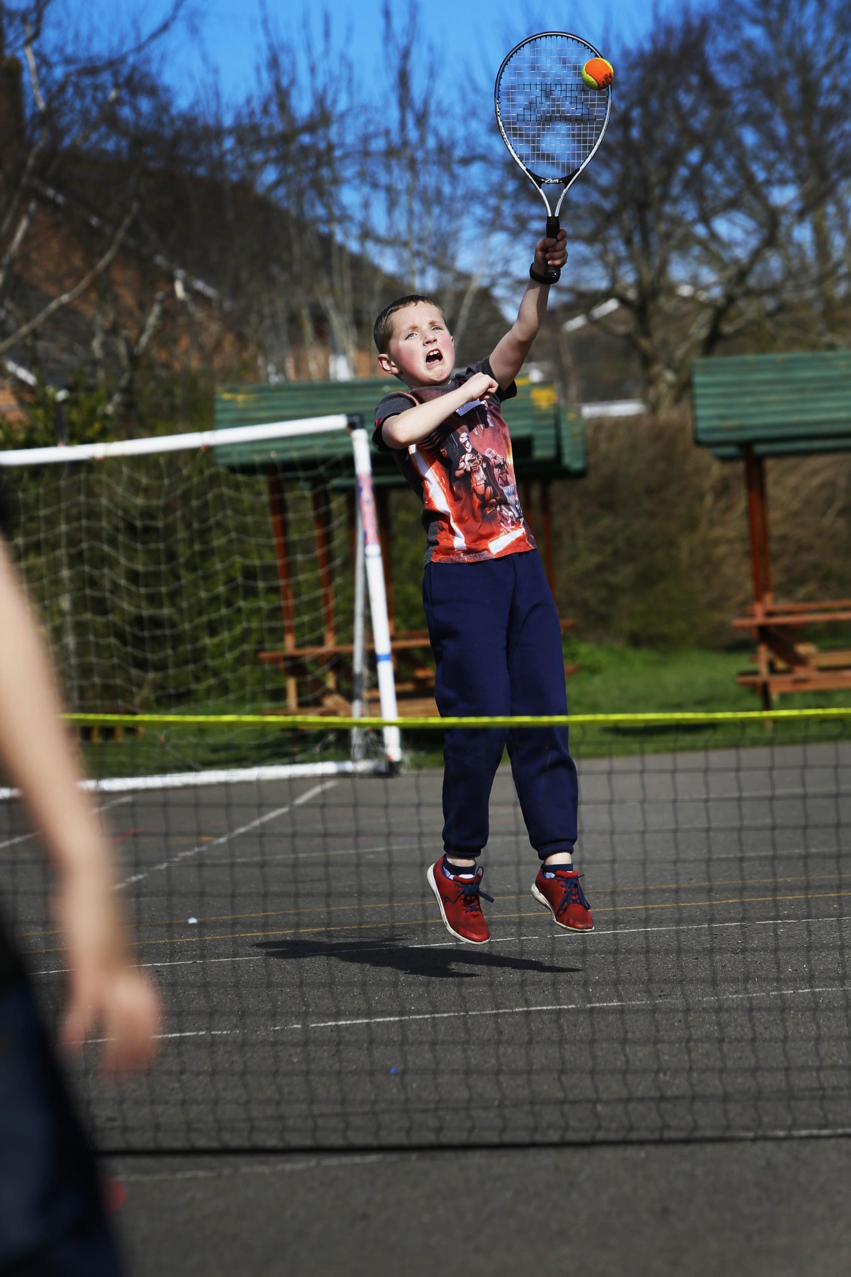 Children enjoying sport at House of Fun