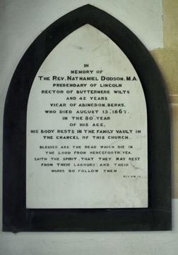 Nathaniel Dodson Memorial
