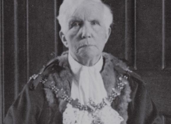 Agnes Leonora Challenor as Mayor 1950-51