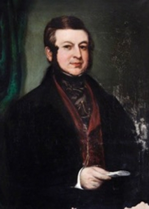 Nathaniel Dodson as a young man.