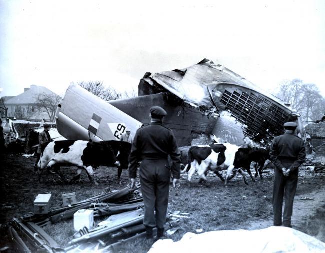 The tragic Beverley crash in March 1957.