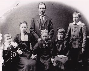 John, Ellen, George, Nellie, Gertie, Arthur