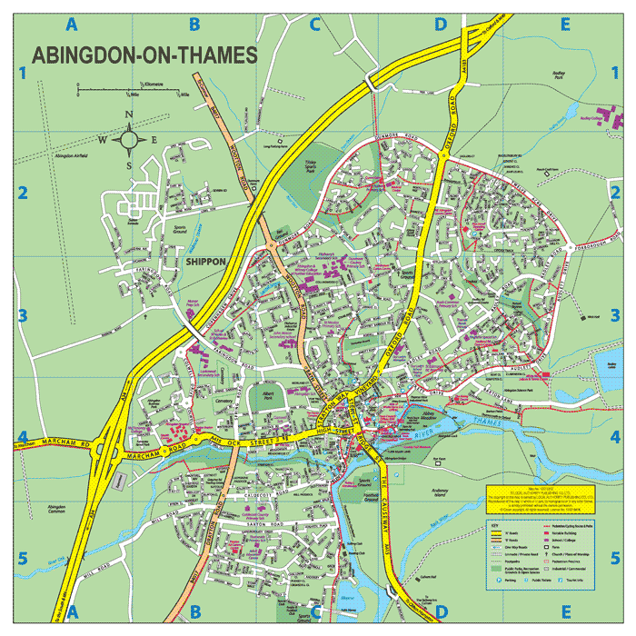 Town Centre map