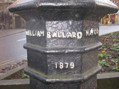 Figure19Ballard bollard in Market Place (© David Clark, 2014)
