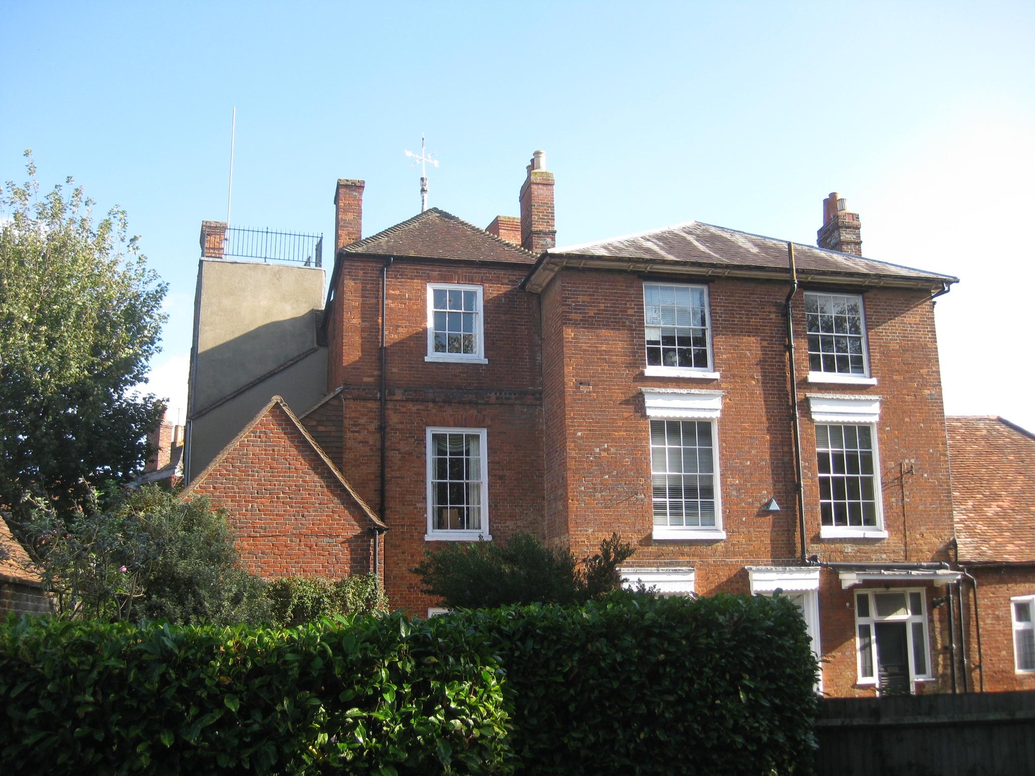 Figure2Stratton House, rear elevation