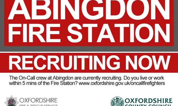 Abingdon Fire Station recruiting now