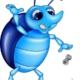 illustration of a litter bug