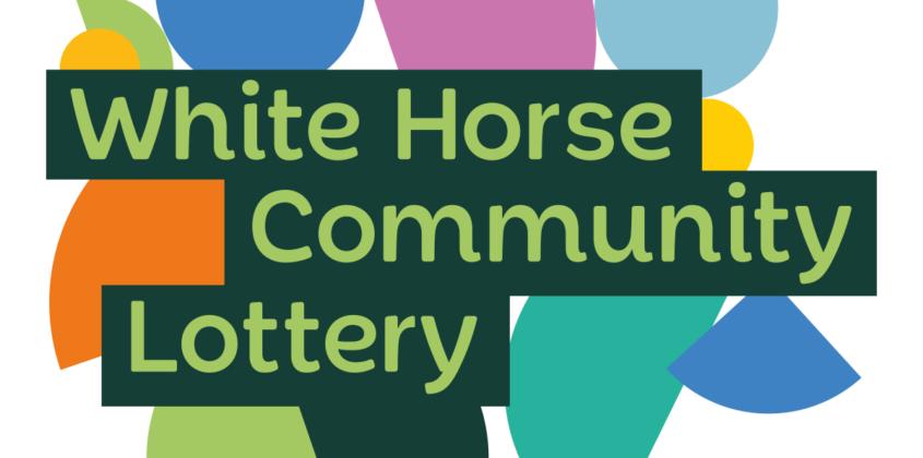 white horse community lottery logo