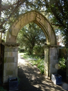 Figure 7 Stone arch in grounds