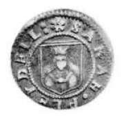 Sarah Pleydell's half-penny token