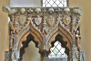 Shrine of St Edburgh